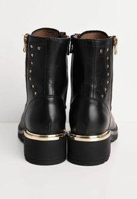 NeroGiardini - Cowboy/biker ankle boot - nero - 3