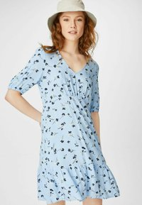 C&A - FLARE - Day dress - light blue - 0