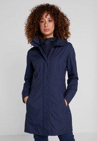 Vaude - WOMEN'S KAPSIKI COAT - Hardshell jacket - eclipse uni - 0