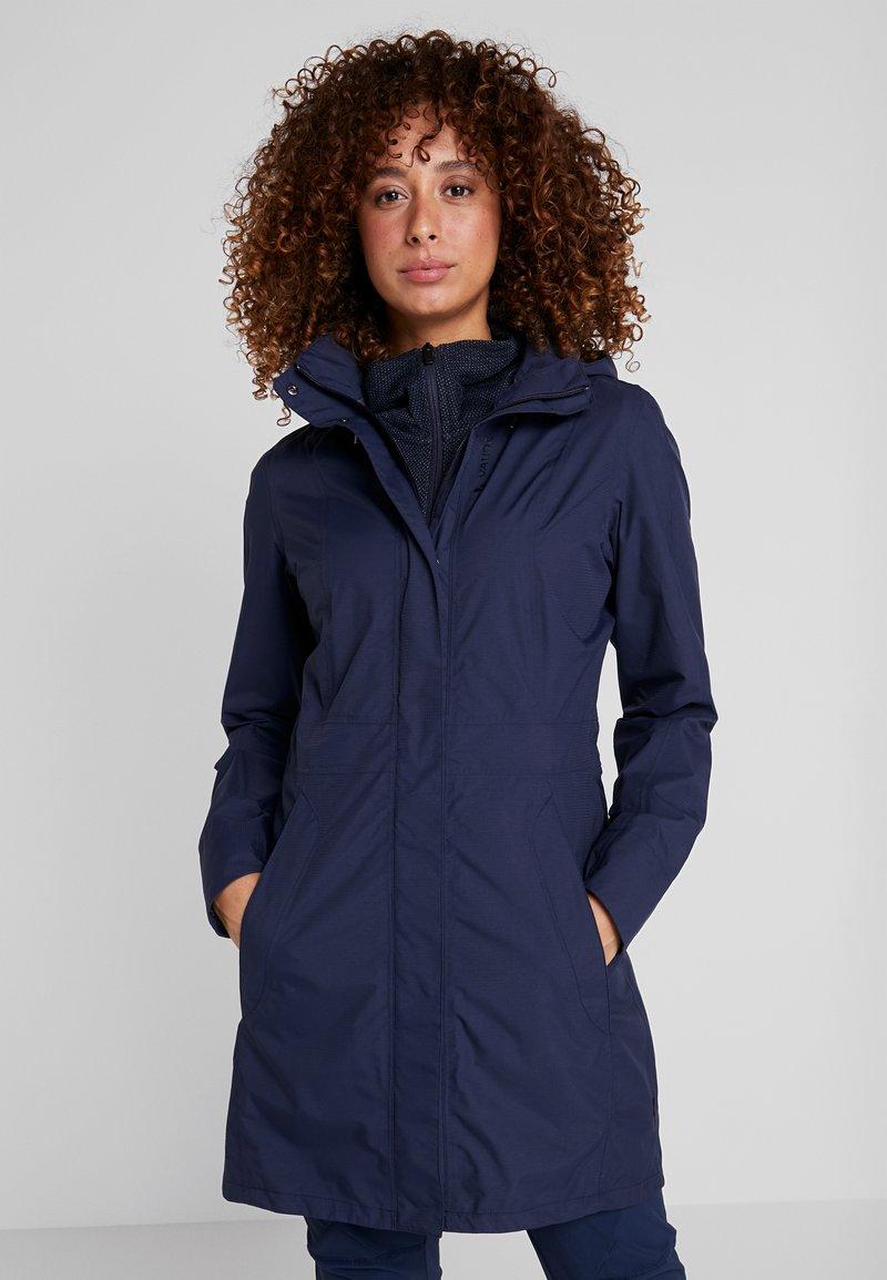 Vaude - WOMEN'S KAPSIKI COAT - Hardshell jacket - eclipse uni