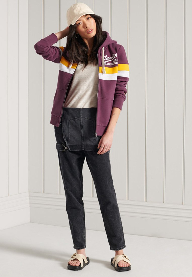 Women COLLEGIATE - Zip-up sweatshirt