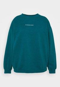 Missguided Plus - WASHED BASIC  - Sweatshirt - blue - 4