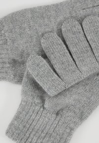 Johnstons of Elgin - CASHMERE GLOVES - Gloves - silver - 5