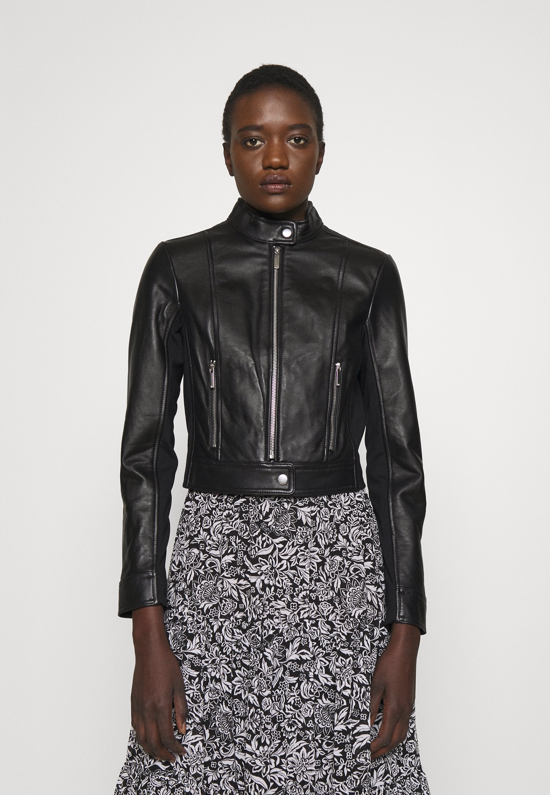 Women PONTI COMBO - Leather jacket