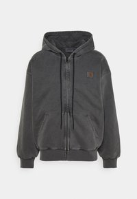 Carhartt WIP - HOODED VISTA JACKET - Zip-up sweatshirt - soot - 0