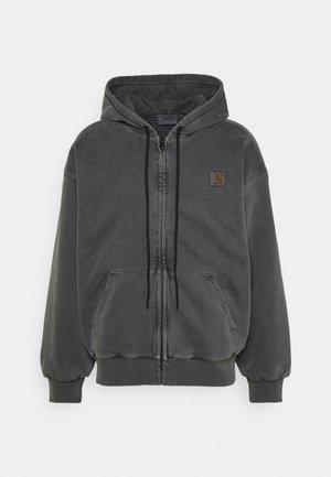 HOODED VISTA JACKET - Zip-up sweatshirt - soot