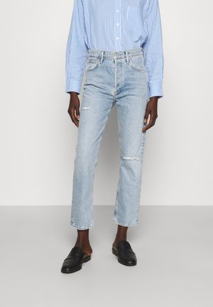 JOLENE - Straight leg jeans - blue jay