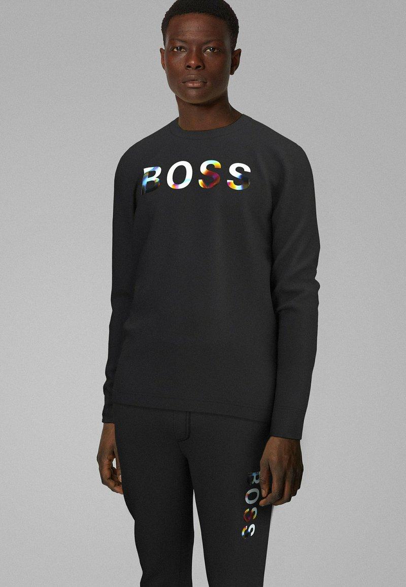 BOSS - TDIGITIZE - Maglietta a manica lunga - black