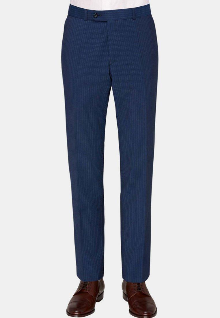 Carl Gross - Suit trousers - blue