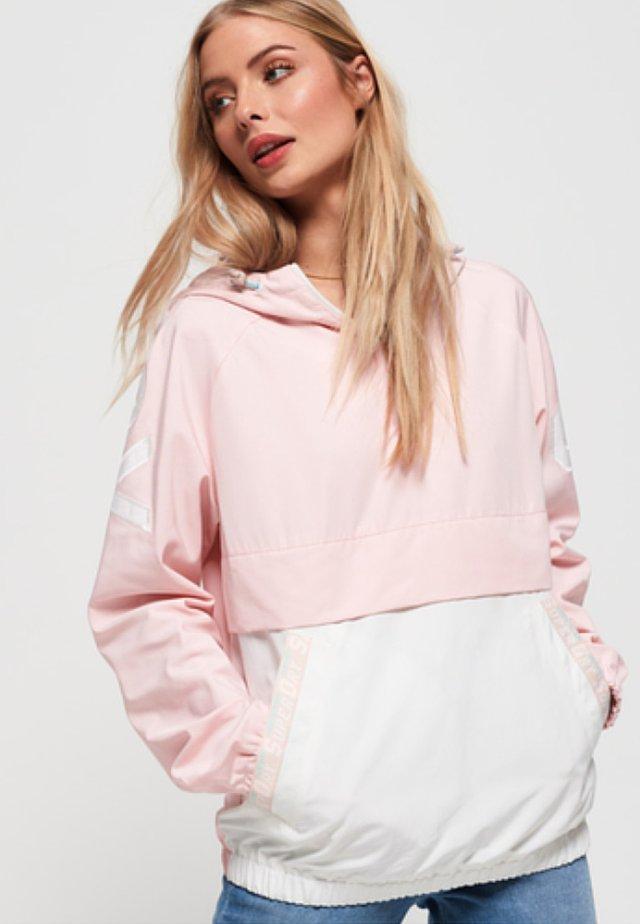 OVERHEAD - Veste coupe-vent - rose/pink