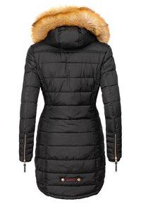 Navahoo - PAPAYA - Winter coat - black - 1