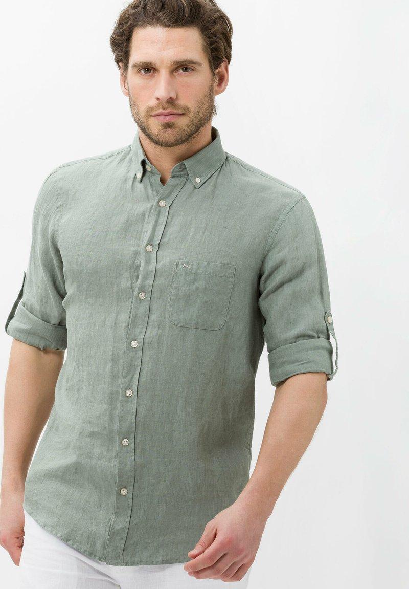 BRAX - STYLE DIRK - Shirt - olive