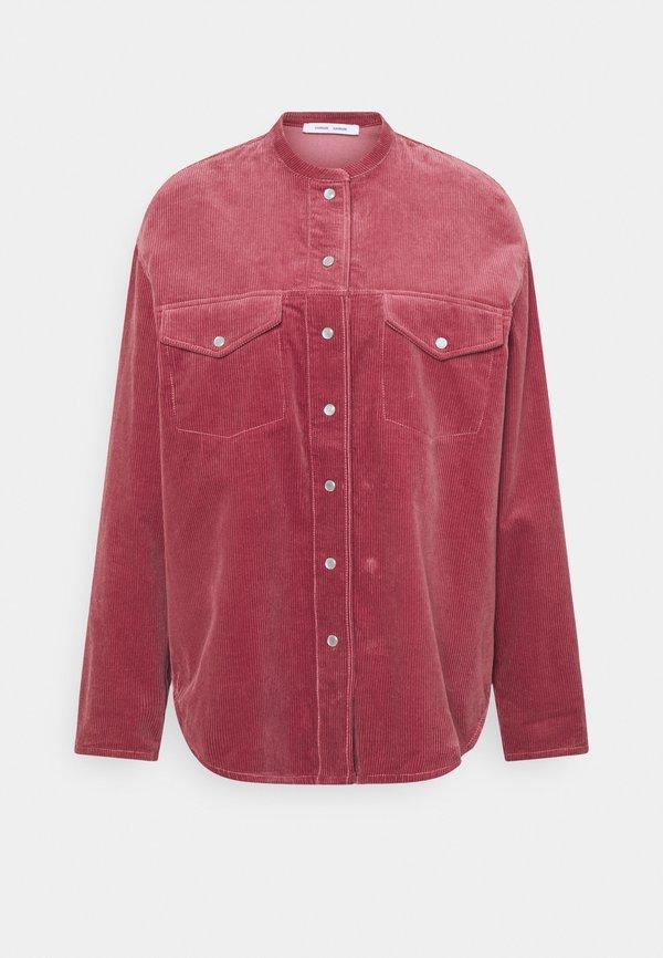 Samsøe Samsøe SIMONIE - Koszula - dark powder pink/rÓżowy BRBV