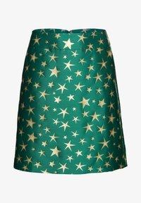 Sheego - A-line skirt - powergrün - 5