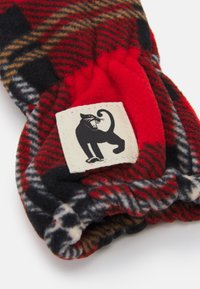 Mini Rodini - CHECK MITTENS UNISEX - Manoplas - red - 2