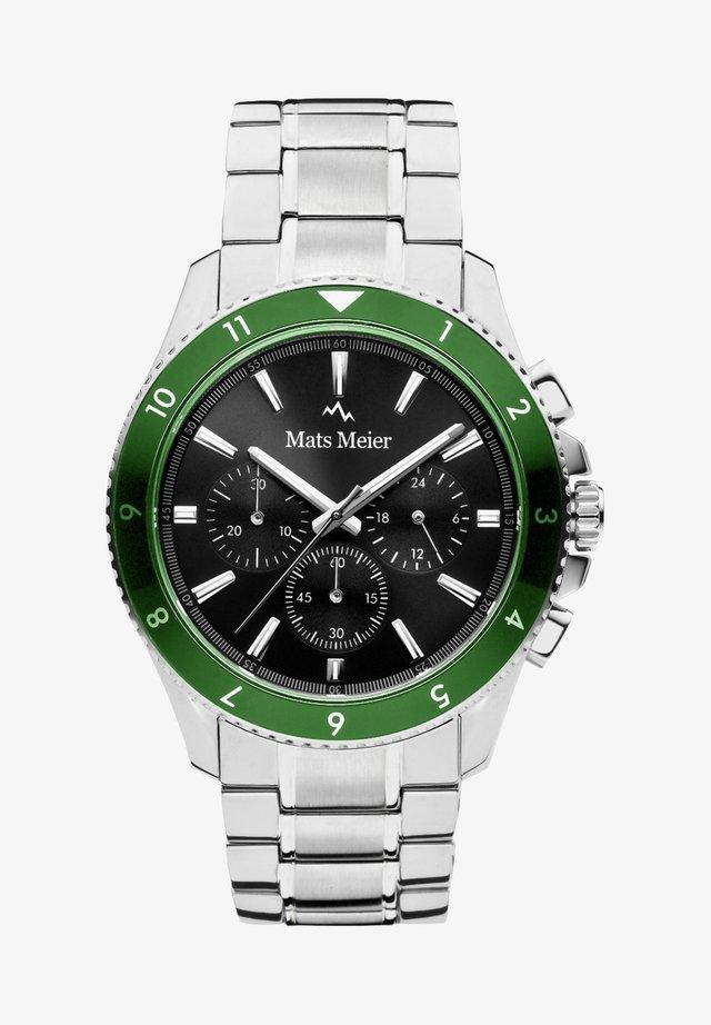 Chronograph watch - silber