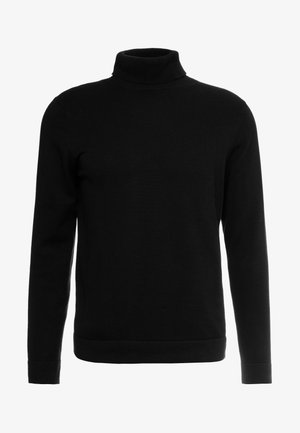 ONSALEX  ROLL NECK - Strickpullover - black/solid