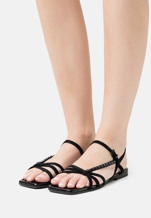 RIO - Sandaalit nilkkaremmillä - schwarz