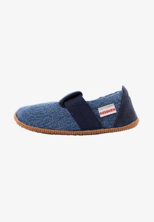 Slippers - dark blue denim