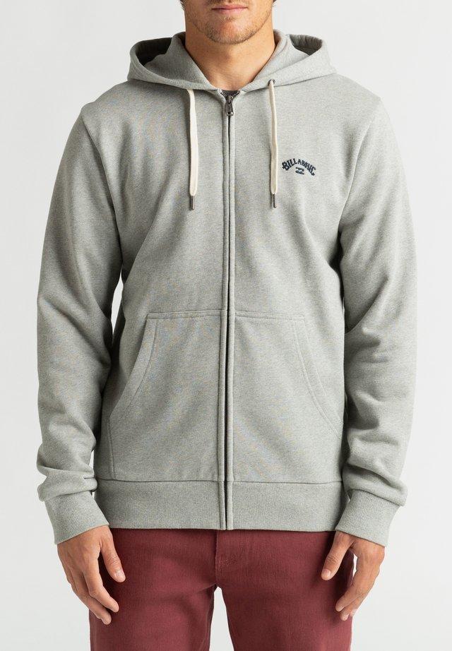 ORIGINAL ARCH  - Hoodie met rits - grey heather