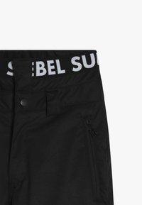 SuperRebel - SKI SNOWBOARD PANT PLAIN - Talvihousut - black - 4