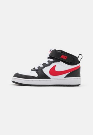 COURT BOROUGH MID 2 UNISEX - Sneakers alte - white/university red/black/midnight navy