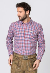 Stockerpoint - PORTOS - Shirt - blue/red - 0