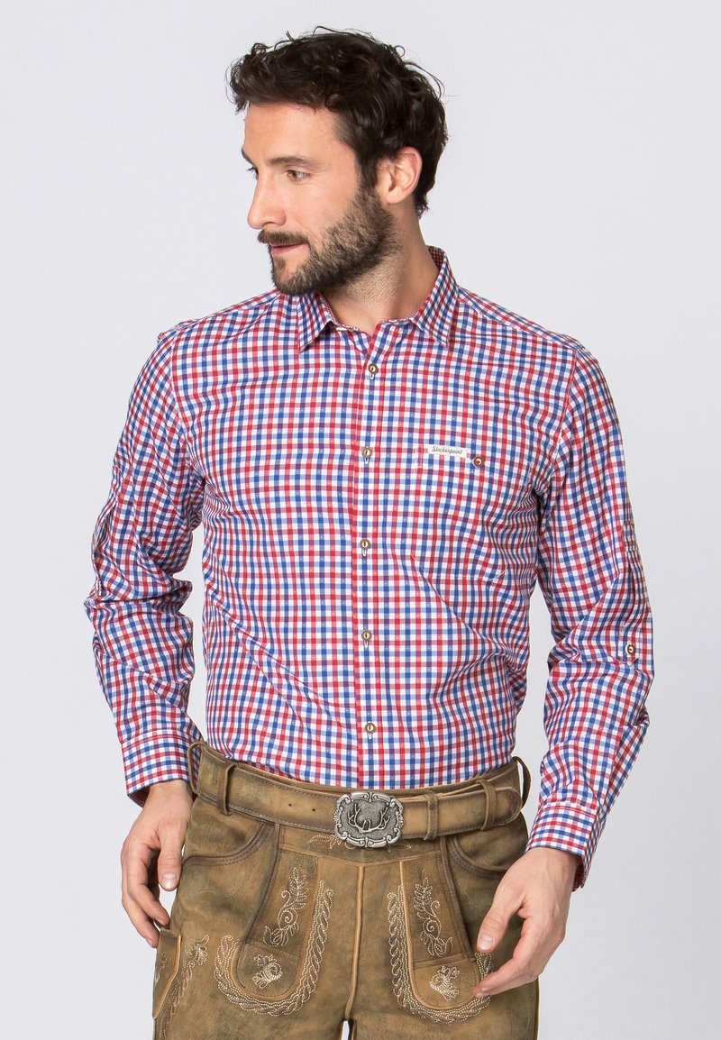 Stockerpoint - PORTOS - Shirt - blue/red
