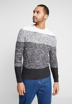 ONSCODY CREW NECK - Jersey de punto - light grey melange