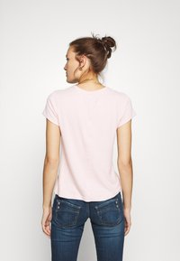 Abercrombie & Fitch - LONG LIFE LOGO - Print T-shirt - pink - 2