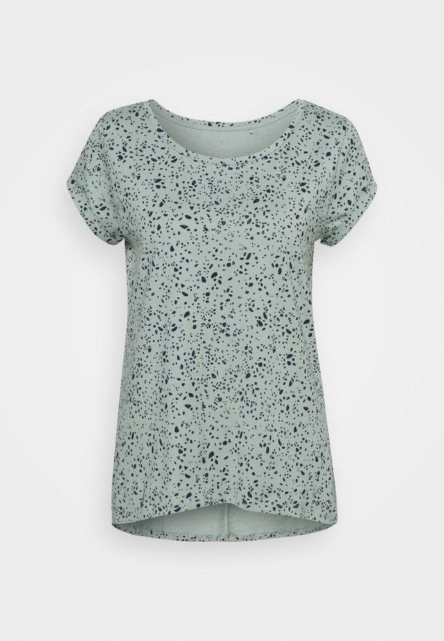 CORE - Print T-shirt - turquoise