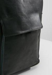 Zign - LEATHER - Rucksack - black - 7