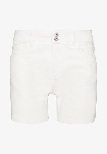 CAJSA - Denim shorts - white denim