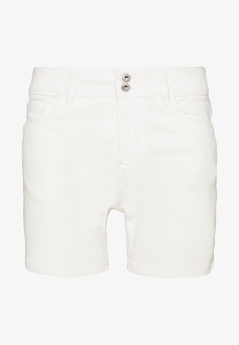 TOM TAILOR DENIM - CAJSA - Denim shorts - white denim