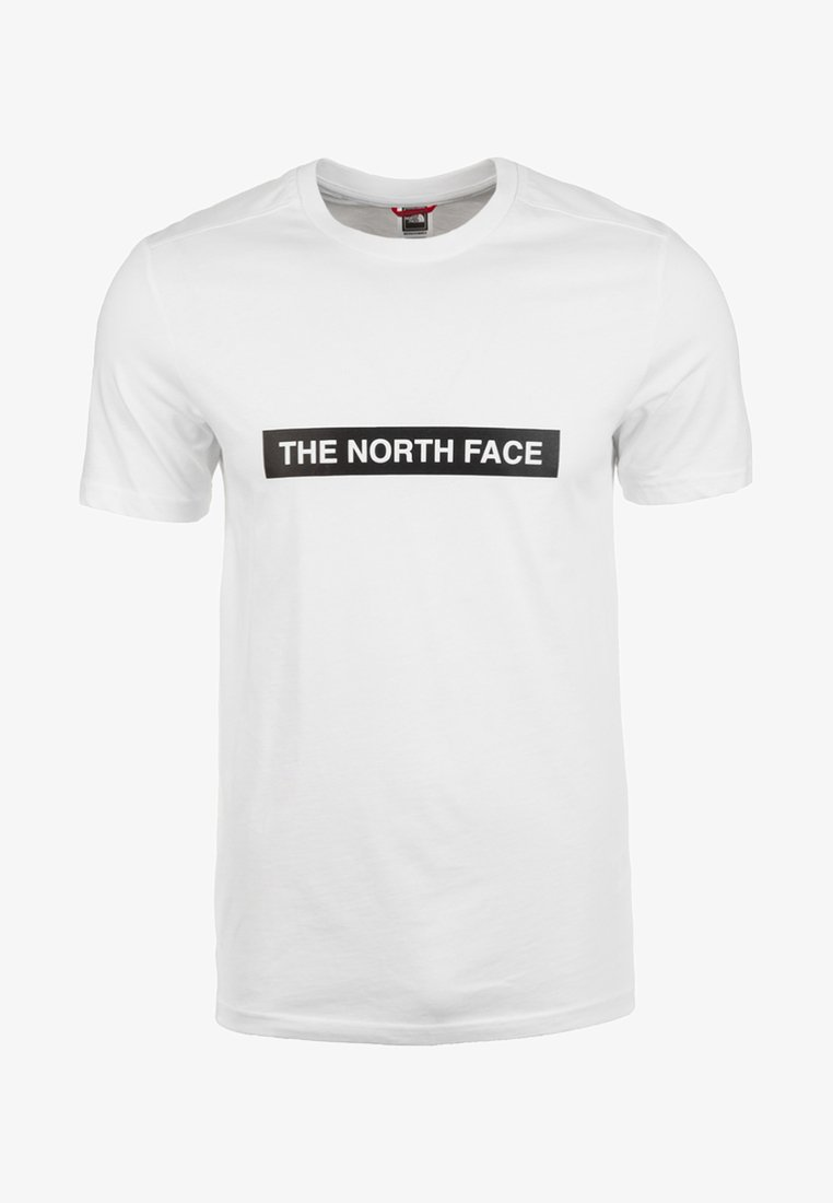 The North Face - M S/S LIGHT TEE - T-shirts print - white