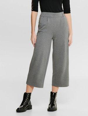 HOSE CULOTTE - Trousers - medium grey melange