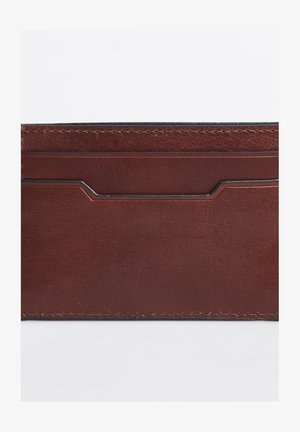 Business card holder - tan