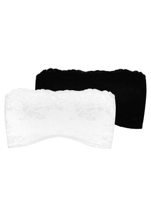 2 PACK - Multiway / Strapless bra - black
