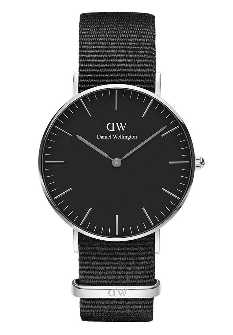 Daniel Wellington - CLASSIC CORNWALL 36MM - Watch - silver