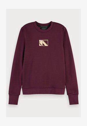 Basic long sleeve - Sweater - burned plum
