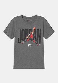 Jordan - CREW - Camiseta estampada - carbon heather - 0