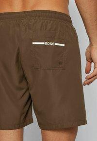 BOSS - DOLPHIN - Swimming shorts - khaki - 2