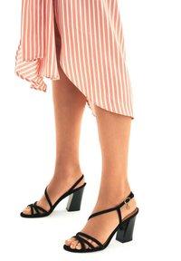 Kazar - SUZETTE  - High heeled sandals - black - 0