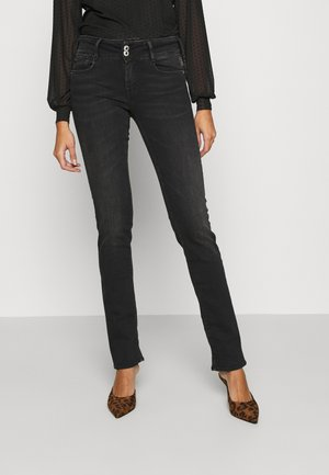 PULPREG - Straight leg jeans - black