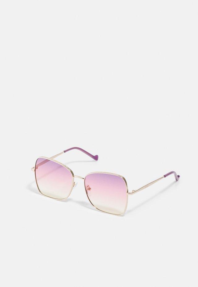 Sonnenbrille - golden amber
