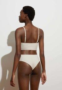 OYSHO - Bikini bottoms - off-white - 1