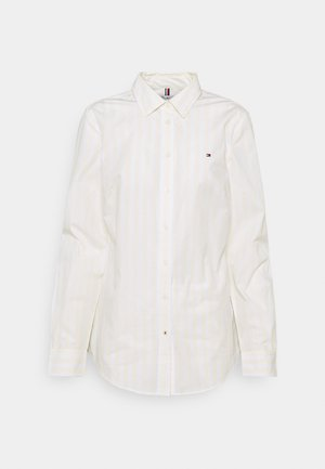 REGULAR SHIRT - Button-down blouse - banker/ frosted lemon
