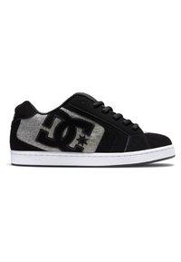 DC Shoes - NET UNISEX - Skeittikengät - black/grey/grey - 1