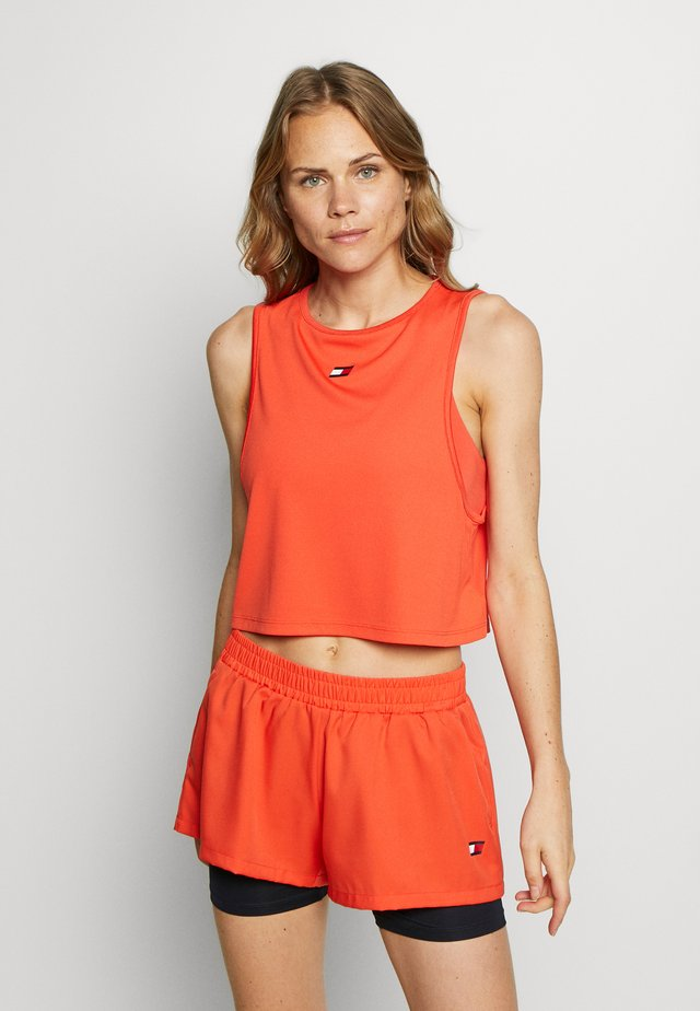 PERFORMANCE TANK  - T-shirt de sport - orange