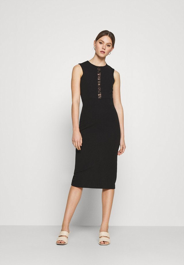 SAVANNAH MIDI DRESS - Cocktail dress / Party dress - black